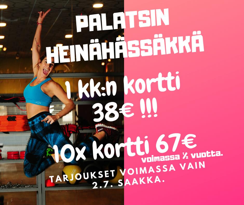 HEINÄHÄSSÄKKÄ KORTTITARJOUKSET !!