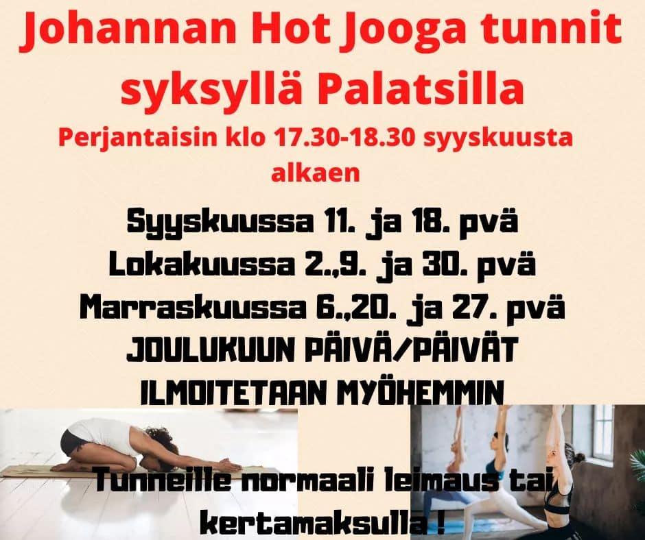 Johannan Joogat syksyllä 2020